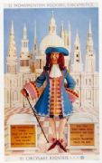 Vintage London underground poster - Sir Christopher Wren